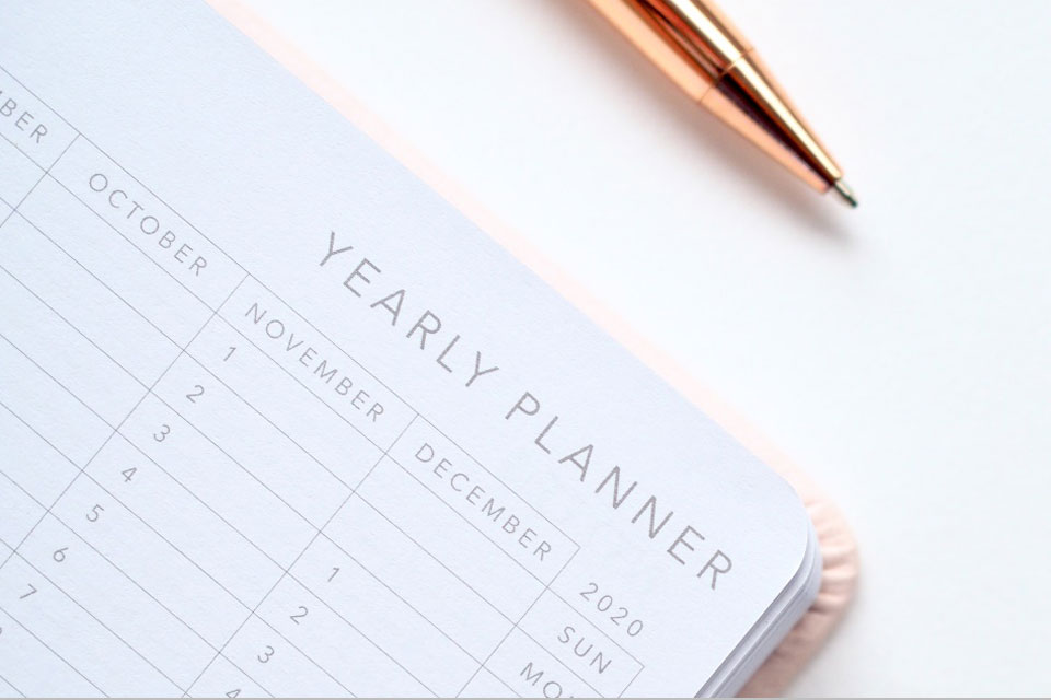 2020 Yearly Planner