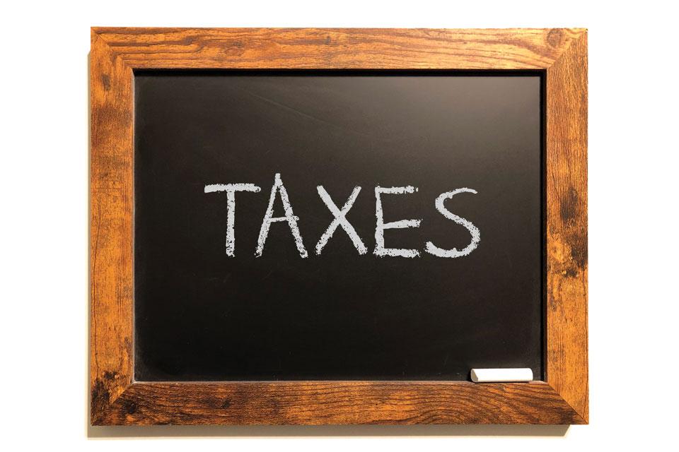Taxes Blackboard
