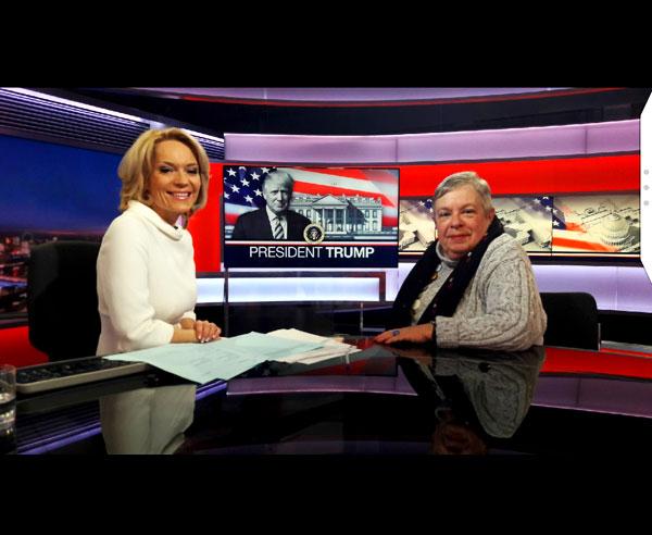 Carol Gould on BBC News