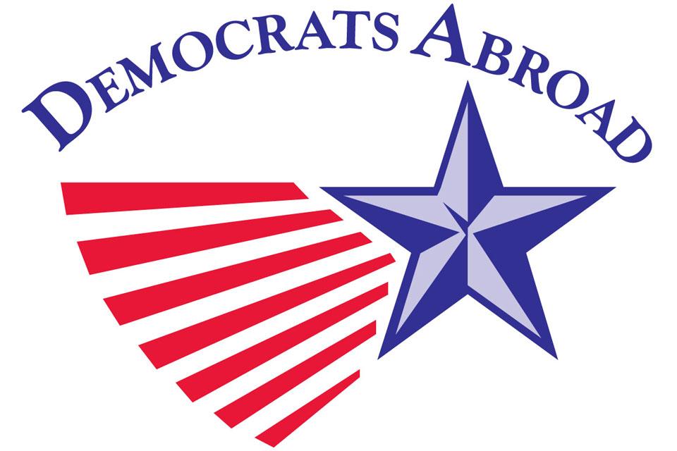 Democrats Abroad logo