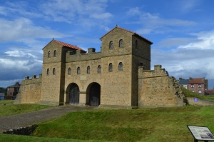 A Rebuilt Fort Gate at South Shields