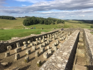 Roman granaries at Housesteads