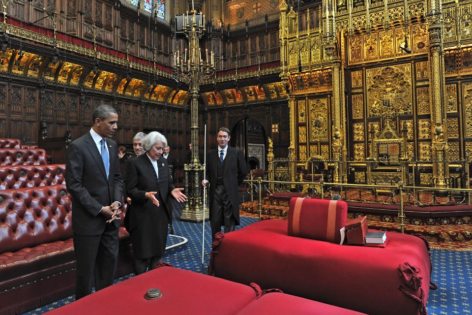 President Obama in the House of Lords