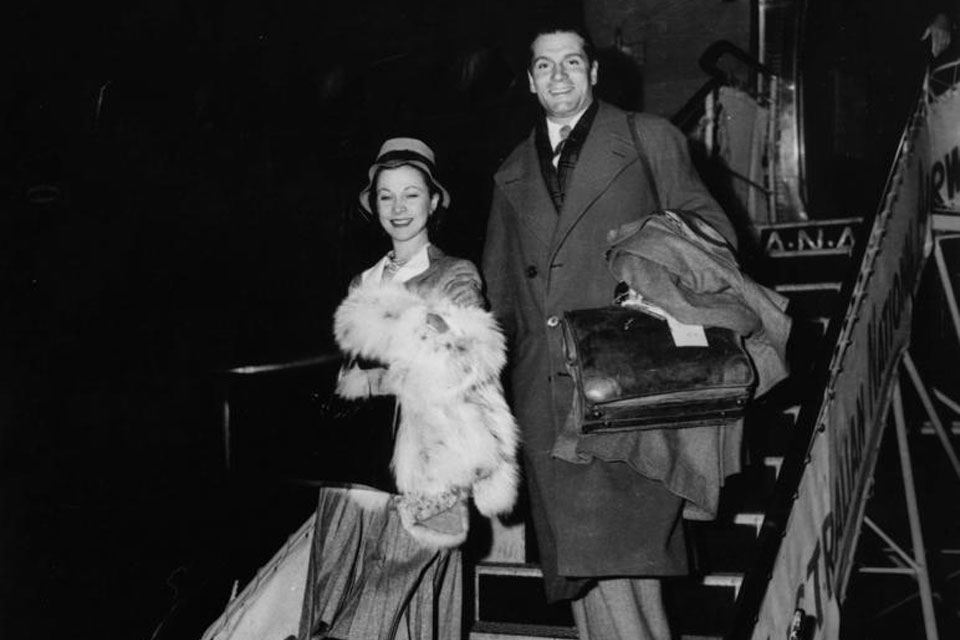 Sir Laurence and Lady Olivier