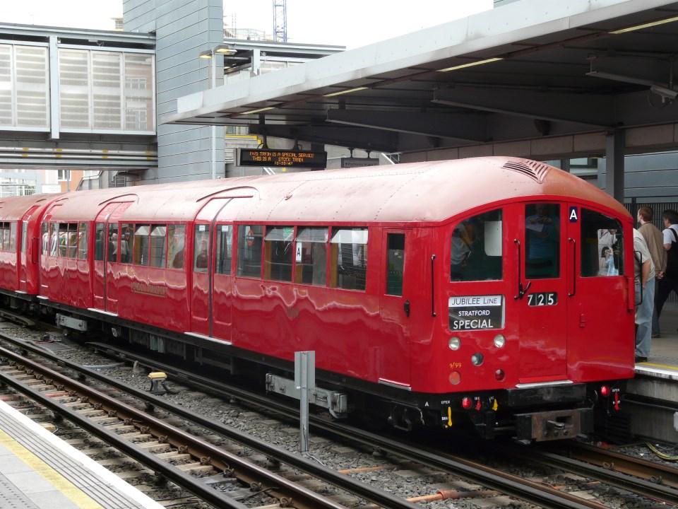 London Transport Museum's 1938 Tube stock