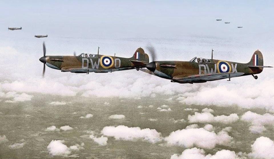Spites of 610 Squadron