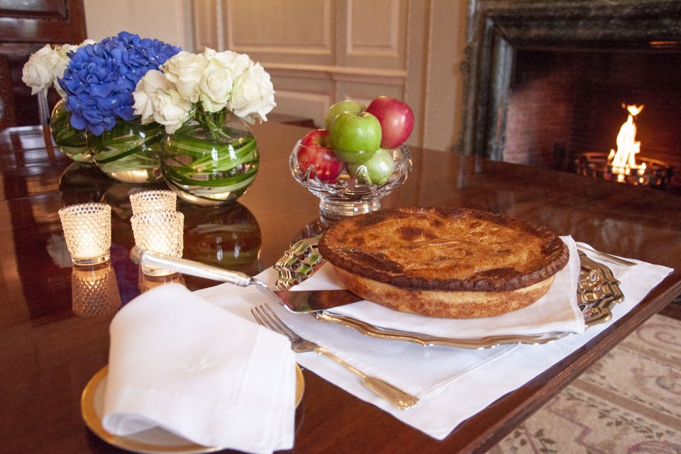 Ambassador Johnson's Grandmother's Apple Pie