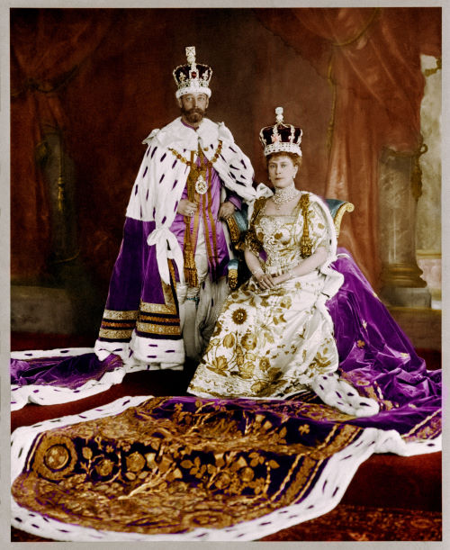The Coronation of George V