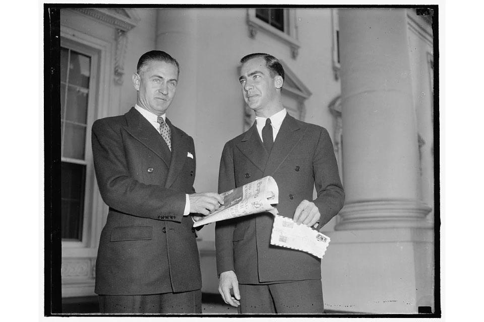 Dick Merrill and Jack Lambie