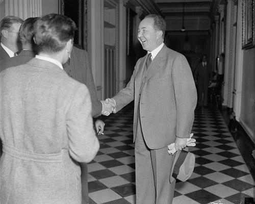 German Ambassador Hans Dieckhoff