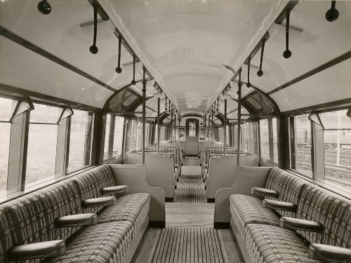 Underground Train Interior