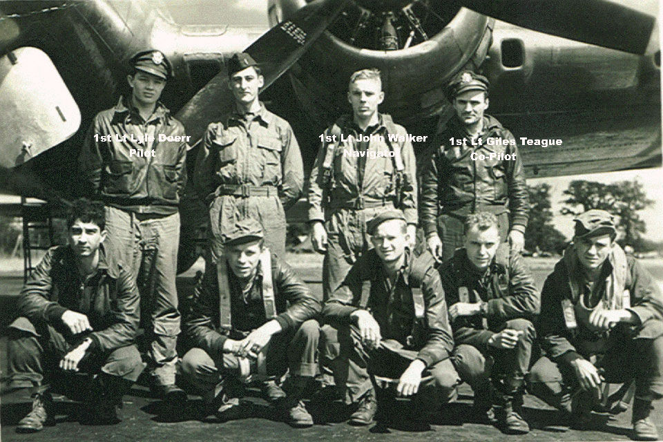 Lyle Doerr (top left) with his Crew
