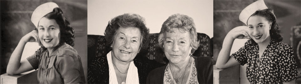 Marjorie Gover and Georgina Hutchings