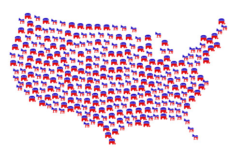 USA Electoral Map