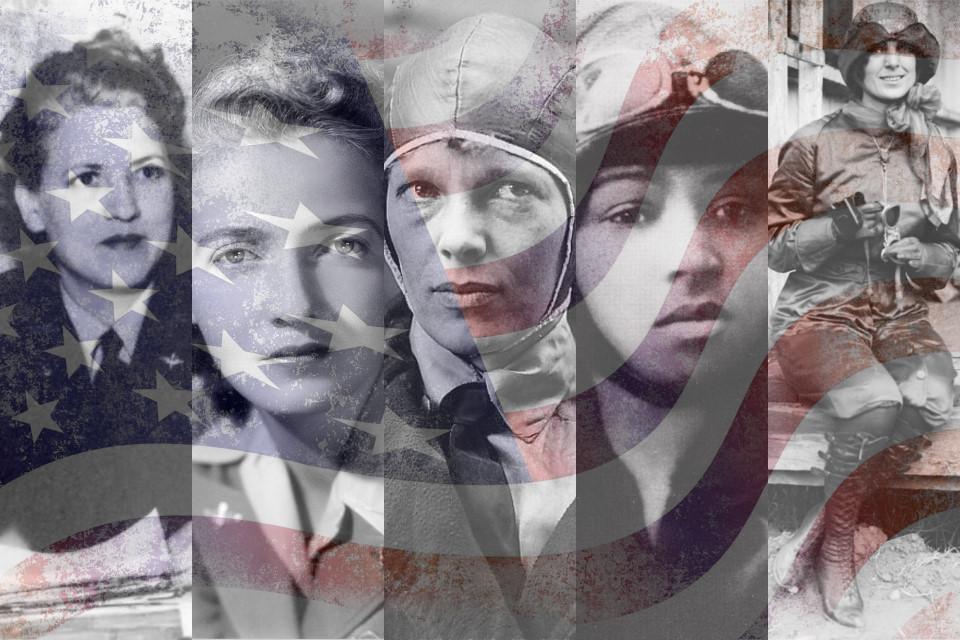 Five American Aviators