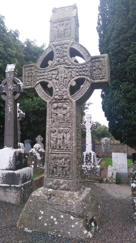 High Cross at Monasterboice. Photo: Heinrich Hall