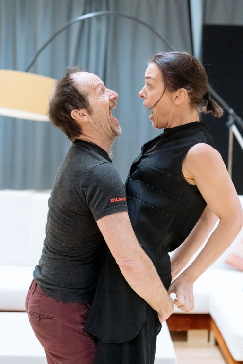 Denis O'Hare and Olivia Williams