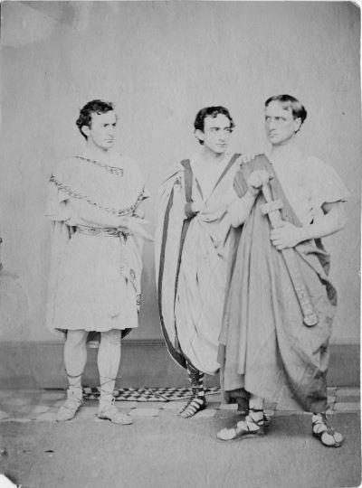 John Wilkes Booth as Julius Caesar
