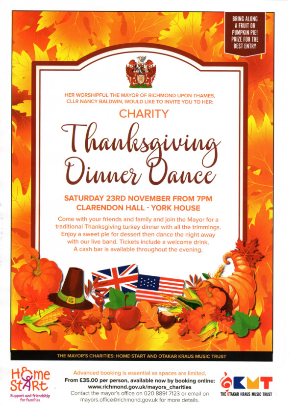 Thanksgiving Dinner Dance