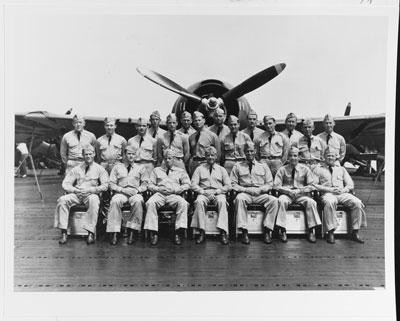 Wade McClusky and USS Enterprise Colleagues