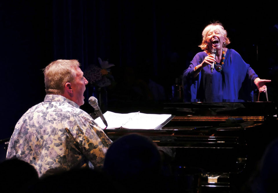 Barb Jungr and John McDaniel live review