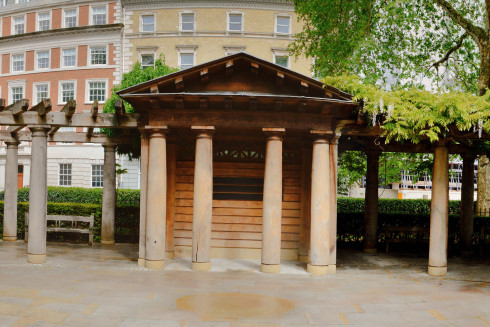 9/11 Memorial Garden in Grosvenor Square