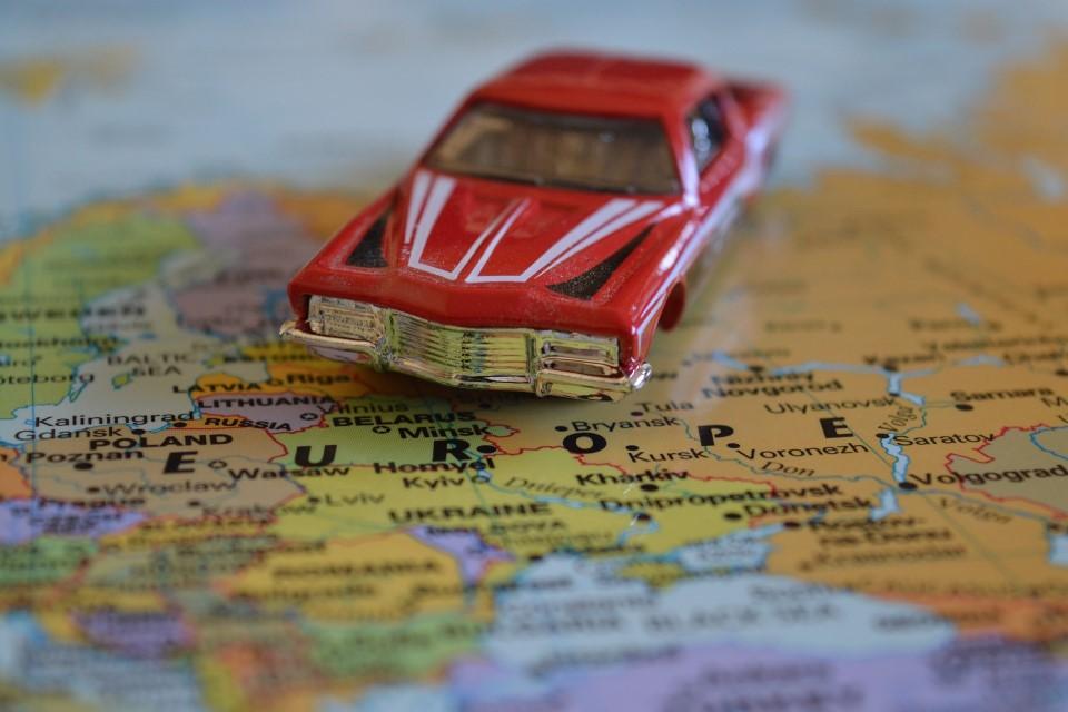 American Car in Europe
