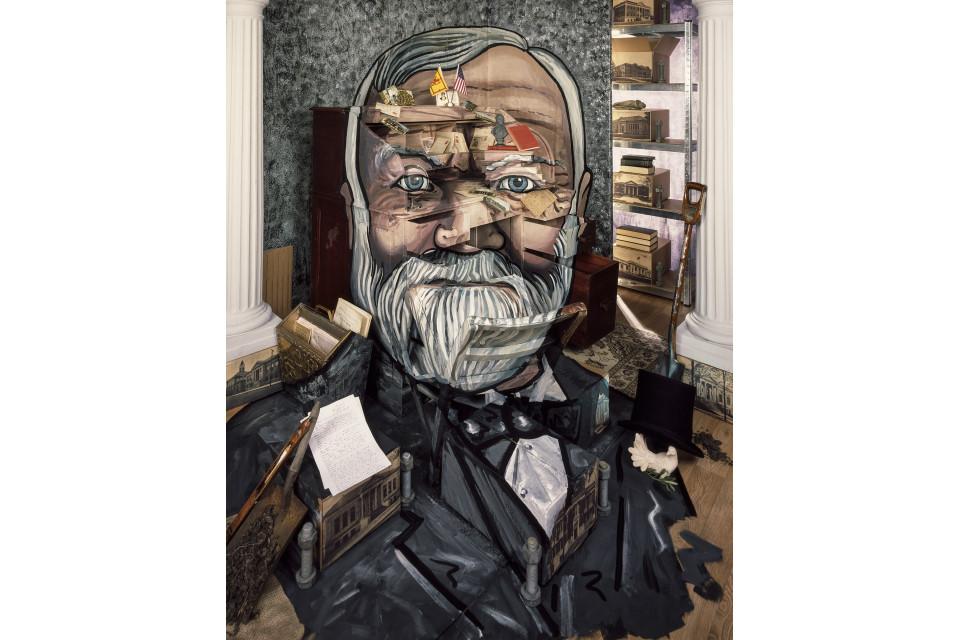 Andrew Carnegie Portrait, by Professor Calum Colvin