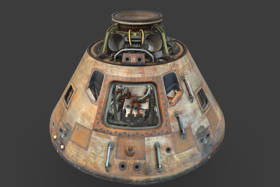 Apollo 11 Columbia command module
