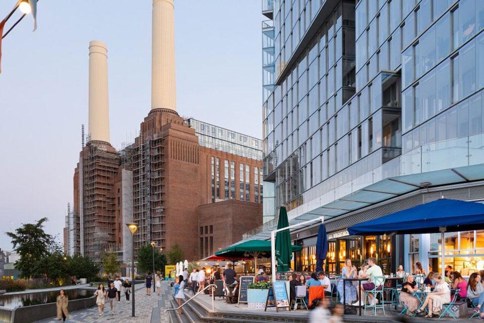 Battersea Power Station Underground party