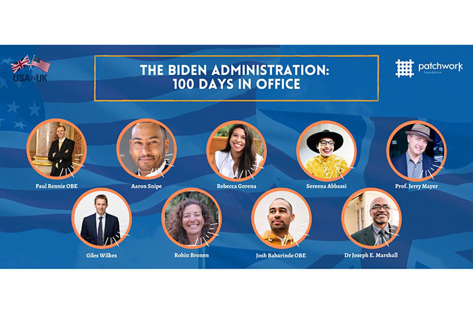 Biden's First 100 Days Event