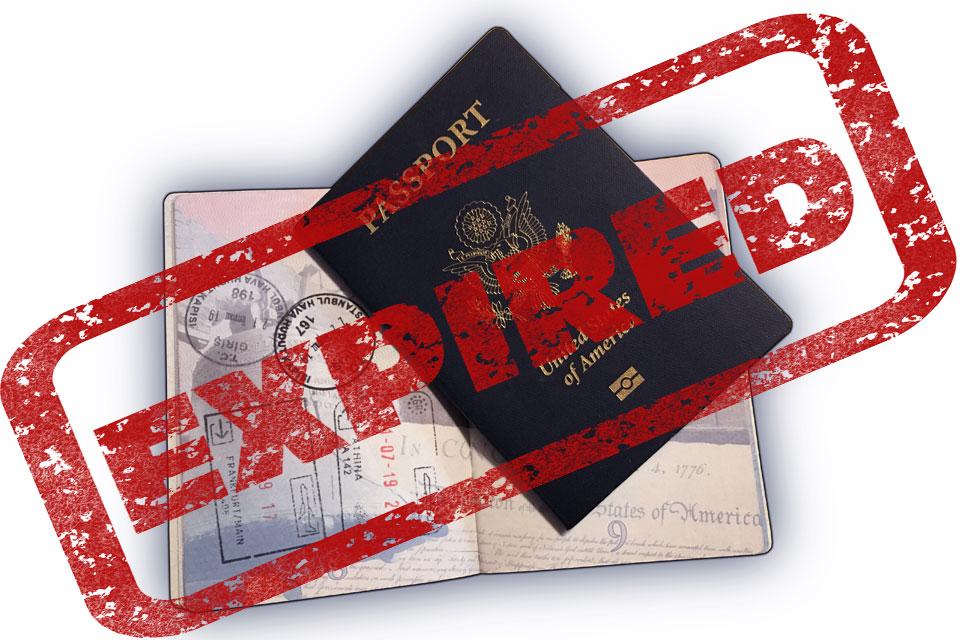 Expired US Passport