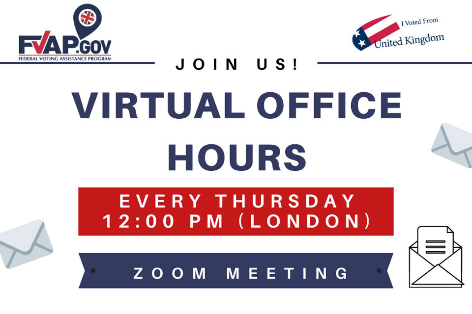 FVAP Office Hours