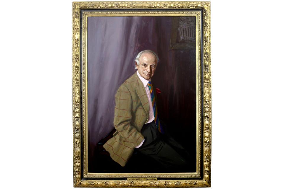 Frank S Whyman Portrait