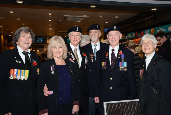 Members of the Frecheville Branch of the Royal British Legion