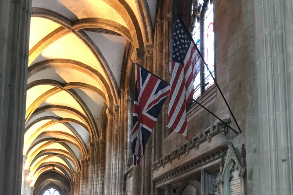Gloucester Cathedral Flags
