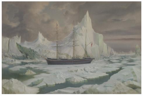 HMS Resolute Oil Painting