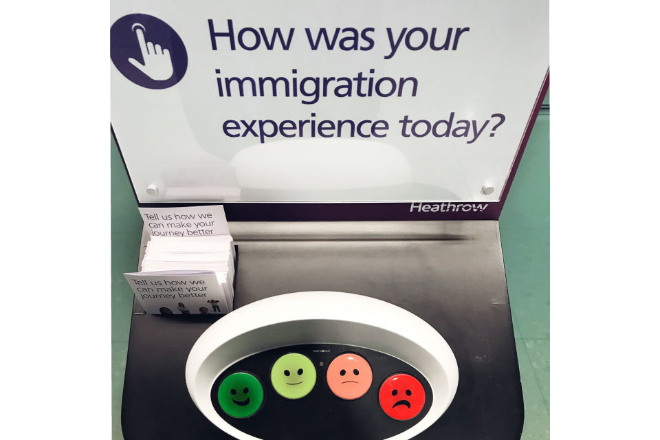 Heathrow Immigration Experience