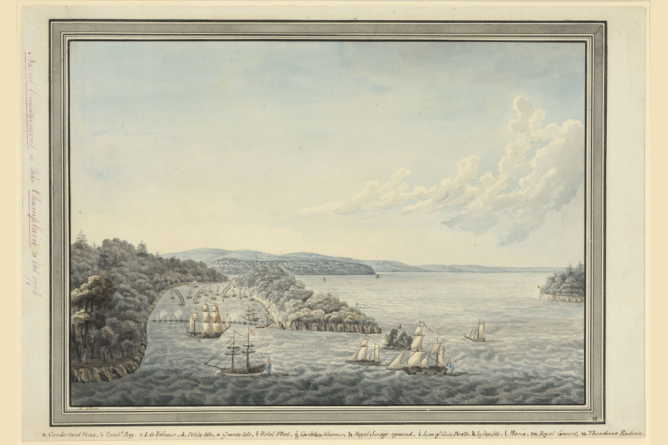 Henry Gilder, Battle of Valcour Island (1776)