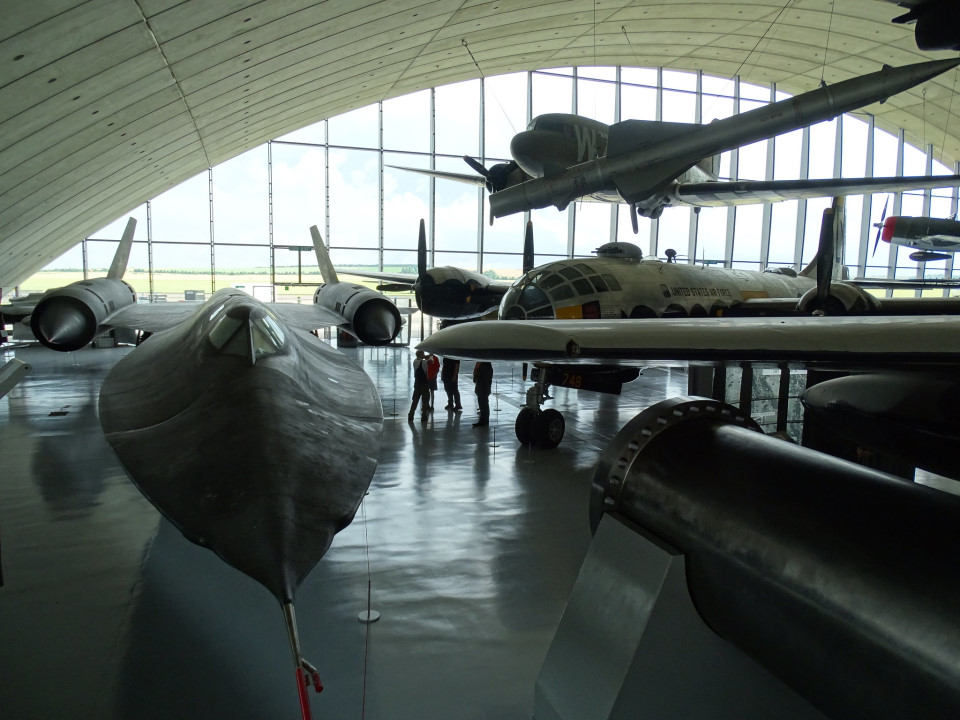Inside the American Air Museum