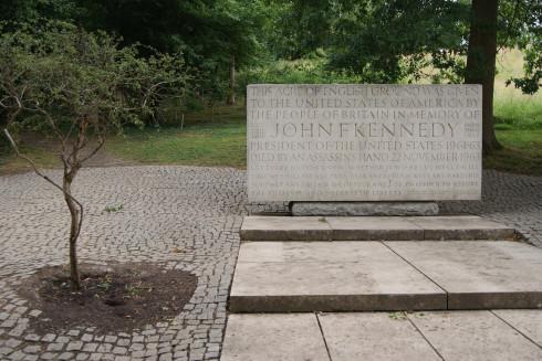 JFK Memorial Landscape