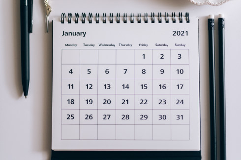 January 2021 Planner