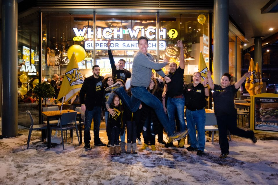 Jeff Sinelli, founder of Which Wich