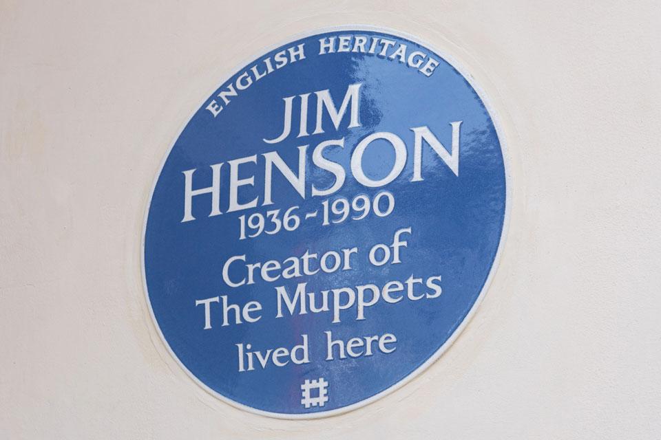 Blue Plaque For Jim Henson
