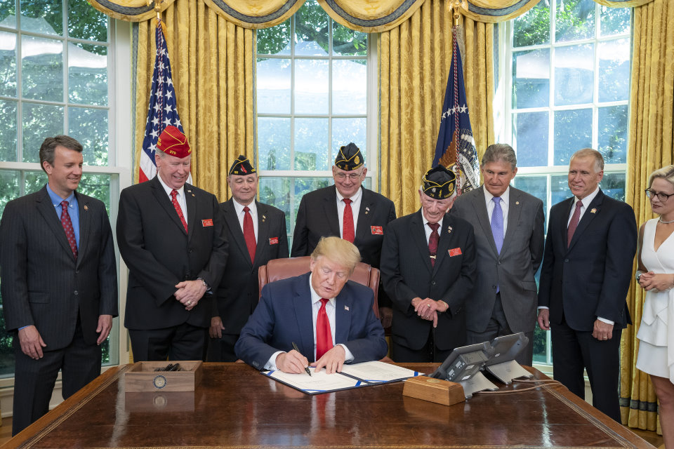 LEGION Act Signing