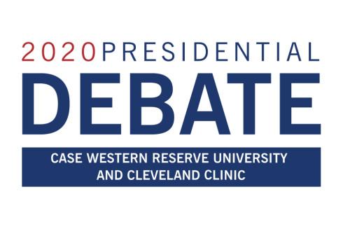US Presidential Debate Logo Cleveland Ohio
