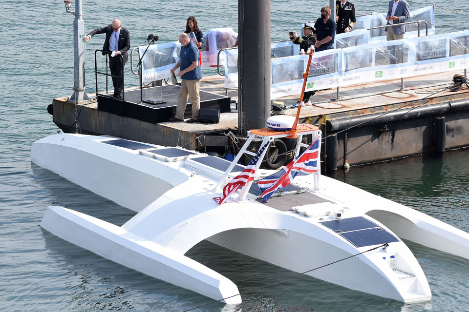 Mayflower Autonomous Ship Named