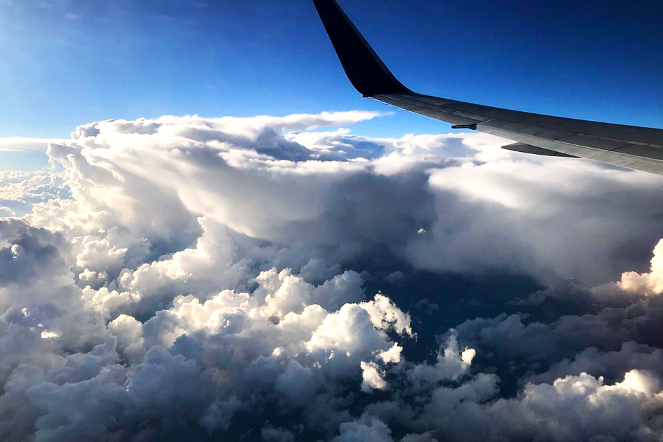 Clouds view
