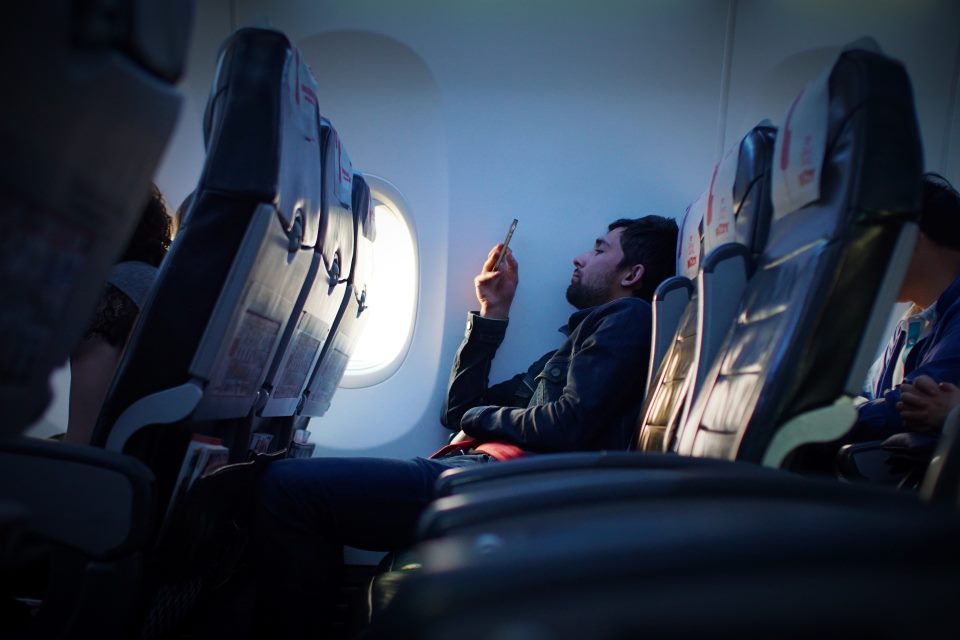 Mobile Phones on a Plane