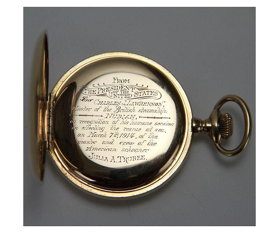 Pocket Watch Inscription